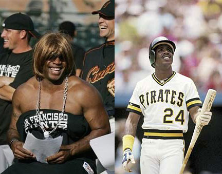 Barry Bonds before and after