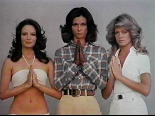 Charlie\'s Angels retro TV