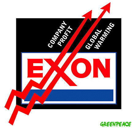 global warming exxon profits oil gas