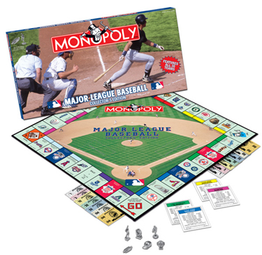 major league baseball monopoly game