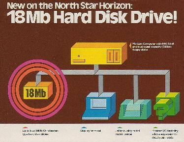 1980 advertisement for North Star hard drive