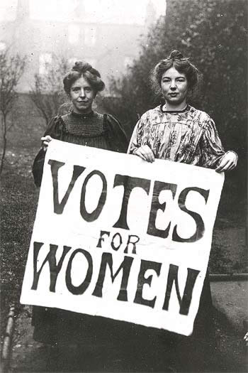 Women should NEVER have been given the right to vote!