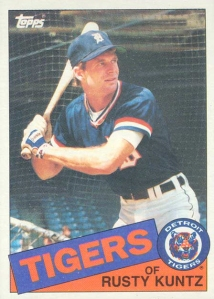 Rusty Kuntz Tigers