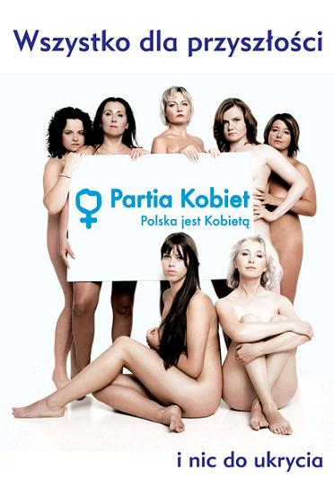 Polish political party ad