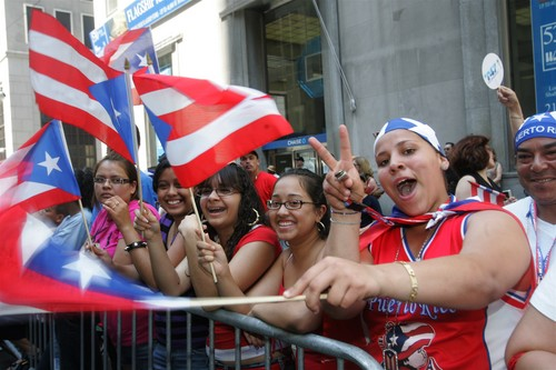 Puerto Rican Pride Day parade in Manhattan
